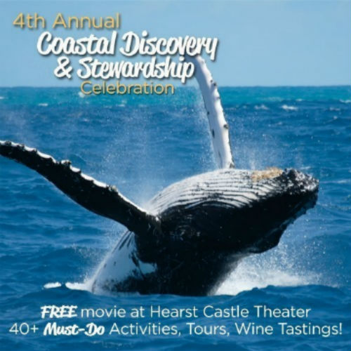 Fourth Annual Coastal Discovery & Stewardship Celebration Hosted by the Highway 1 Discovery Route January 13 – February 28, 2017